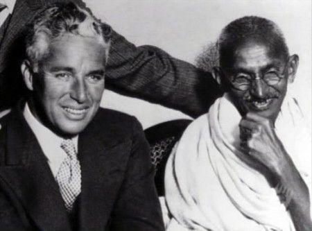 Chaplin & Gandhi