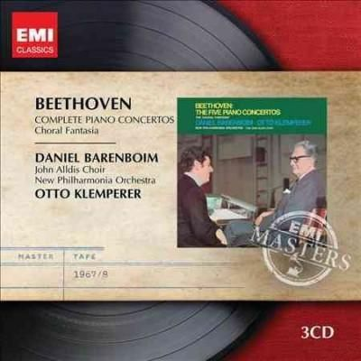 New Philharmonia Orchestra - EMI Masters: Beethoven- Complete Piano Concertos, Choral Fantasia
