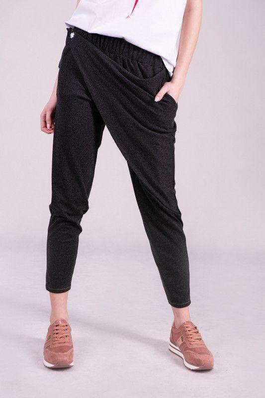 Luzne Spodnie Damskie Z Zakladka Fashion Parachute Pants Pants