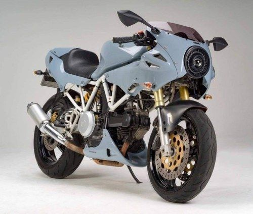 Hugovonsonntag Ducati 750 Supersport Duc Moto Cliente By