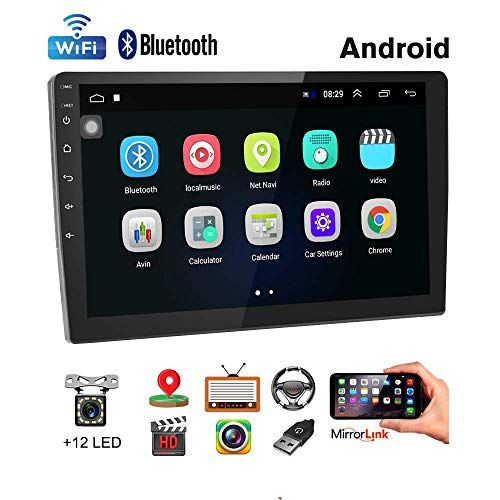Car Stereo Double Din Android Navigation Stereo 10 Inch Hd Touch Screen In Dash Car Stereo With Bluetooth Gps Android Car Stereo Android Navigation Car Stereo