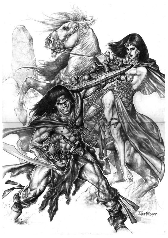 conan the barbarian by ~acts2028 on deviantART