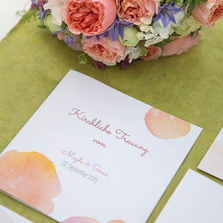 Hochzeitskonzept Water Color - Hochzeitsplaner für Hochzeit – Wedding Planer für Hochzeitsplanung – Traumhochzeit und freie Trauung