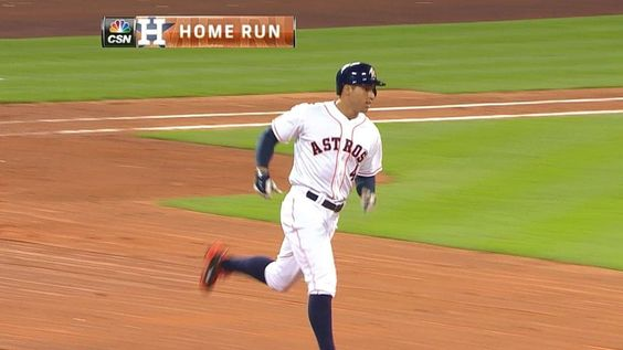 5/29/2014: George Springer's (Houston Astros) 10th Home Run (2-Run HR) of 2014 Season @ Minute Maid Park, Houston Astros.
