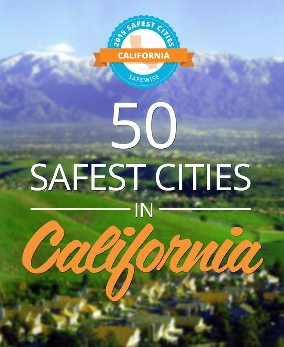 The Golden State reports fewer crimes than the national average according to FBI crime data reports. Do you live in California's Safest City? #california
