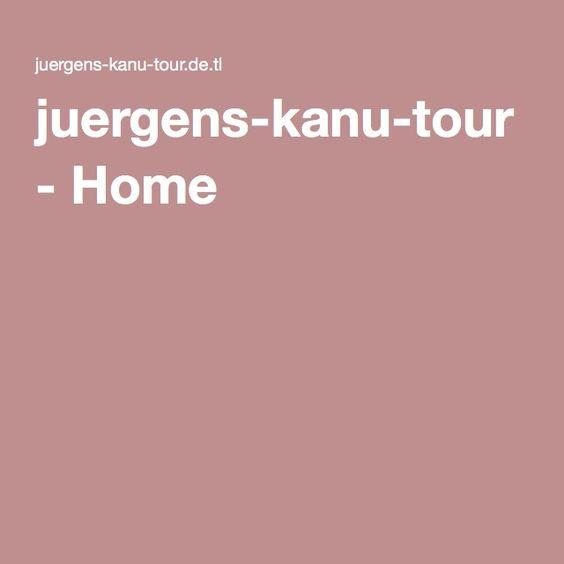 juergens-kanu-tour - Home