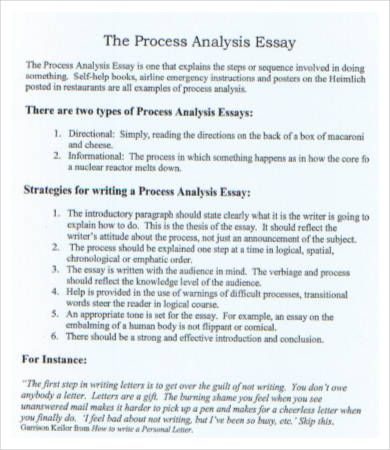 Proces Analysi Essay Example Analysis How To Write A Ib Critical On Book Poem
