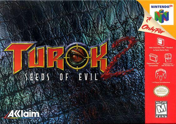Turok 2 Seeds Of Evil N64 1998