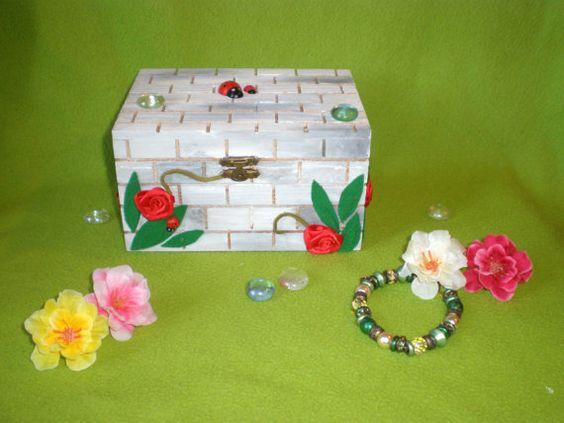 Giardino in scatola di Lallila su Etsy
