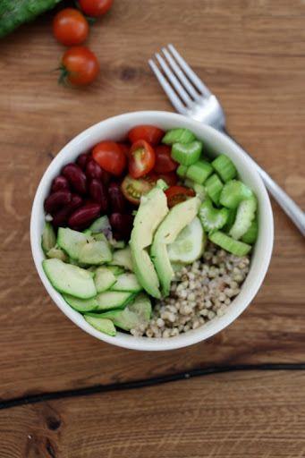 Healthy Buckwheat Buddha Bowl