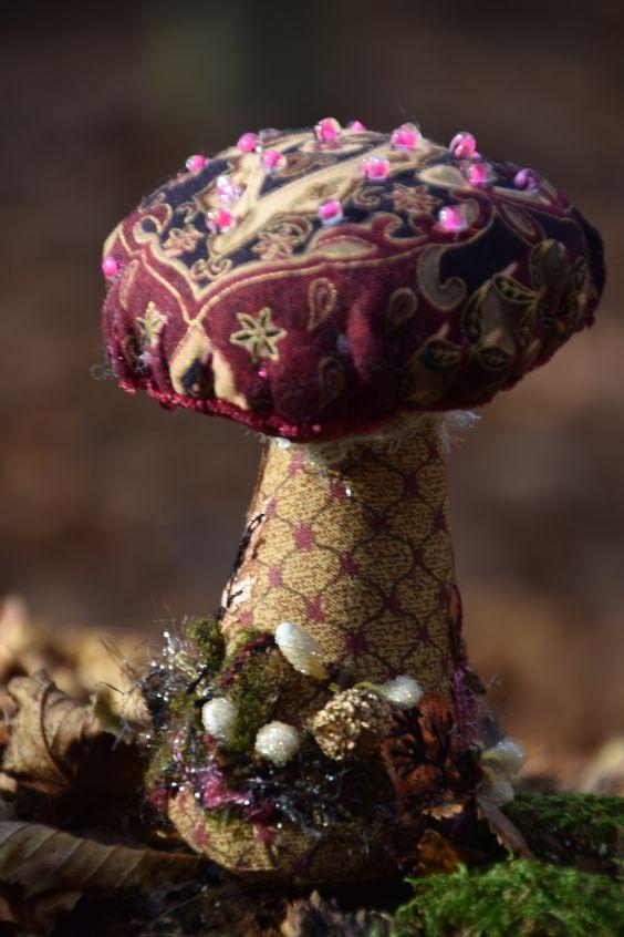 Champignon textile: