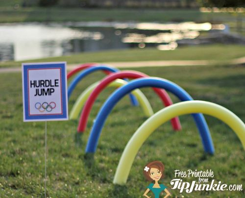 13 Olympic Games Printable Party Decor From Tip Junkie