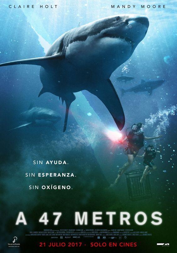 A 47 Metros 2017 Tt2932536 Esp C Peliculas De Tiburones Peliculas De Terror Peliculas Completas