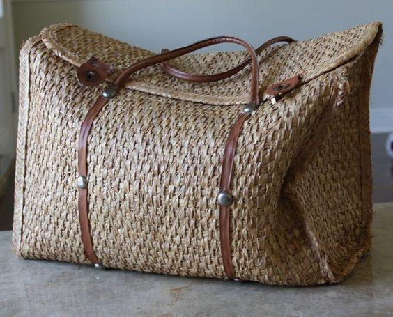 Woven bag: