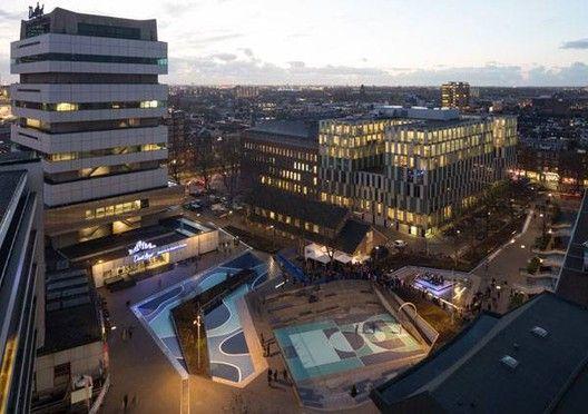 4 espaços públicos que incluem a água na vida urbana,© De Urbanisten