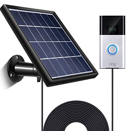 Solar Panel Compatible With Ring Video Doorbell 1 Waterp Https Www Amazon Com Dp B07jg5y8ry Ref Cm Sw R P Ring Video Doorbell Solar Panels Video Doorbell