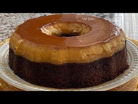 اسهل طريقة لعمل كيكة قدرة قادر Flan Cake Youtube Desserts Mini Cheesecake Food