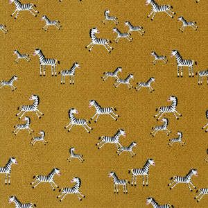 Fabric! Mini Zebras on Gold by Timeless Treasures