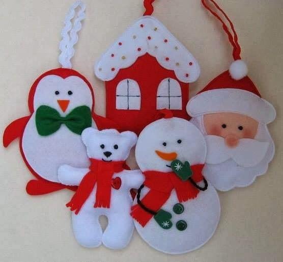 Atelier Giovanna Giovanni: Enfeites de Natal!!!!