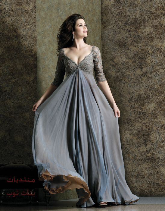 stunning grey dress