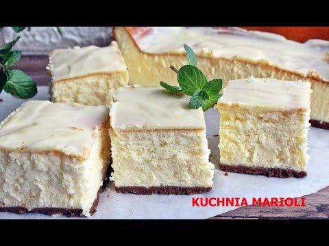 Podwojnie Mleczny Sernik Puszek Youtube Food Baking Cake