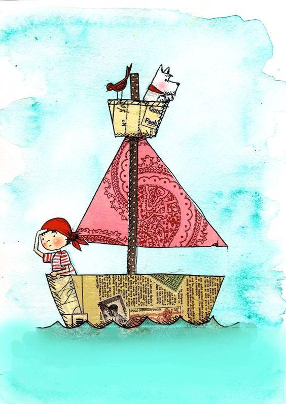 niedlich Children's Illustrations by Vanessa Roeder, via Behance