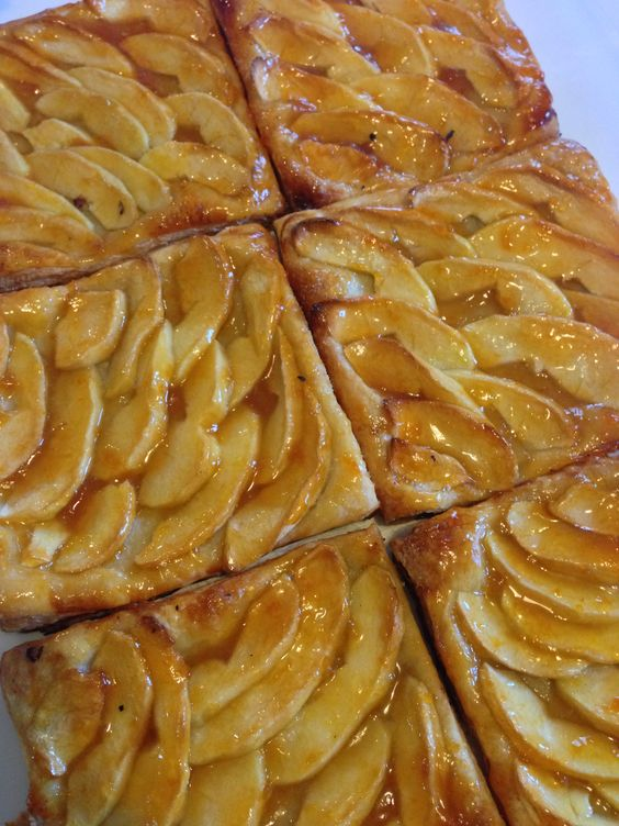 Ina Garten's apple tarts...yummy!!