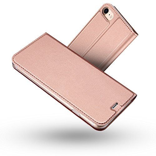 Radoo Coque iPhone 8Coque iPhone 7 Ultra Mince en Cuir PU Premium ...