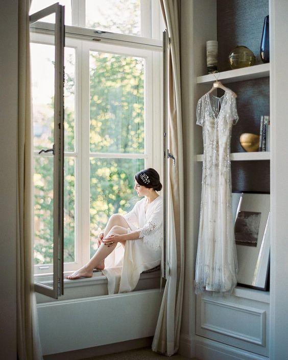 Nastia Vesna Photography Morning bride  Dress @jennypackham #jennypackham videography @meseptember film lab @carmencitalab #amsterdam