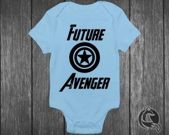 Baby Shower Gift Idea Marvel MCU Captain America Shield Bodysuit Future Avenger Handmade Baby Bodysuit For Boys And Girls Superhero Comic Book Baby Onesie/®