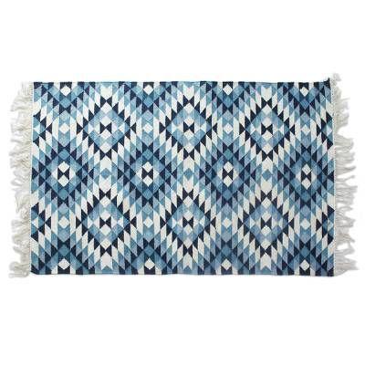 Wool Area Rug Fantastic Frets 4x6 In 2020 Wool Area Rugs Handmade Wool Rugs Wool Rug