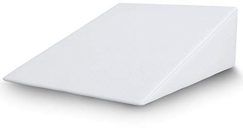 Balancefrom Foam Wedge Bed Support Pillow With Memory Foam Top And Removable Cover 25 X 24 X 7 Reviews