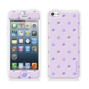 Cushi Plus iPhone 5 Purple Dot, $17, now featured on Fab.