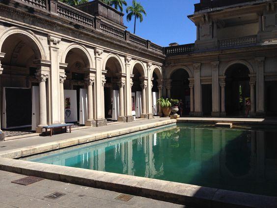 Mansão Lage - piscina