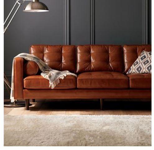 Thể hiện cá tính cùng sofa da tphcm từ thiết kế  không gian phòng khách