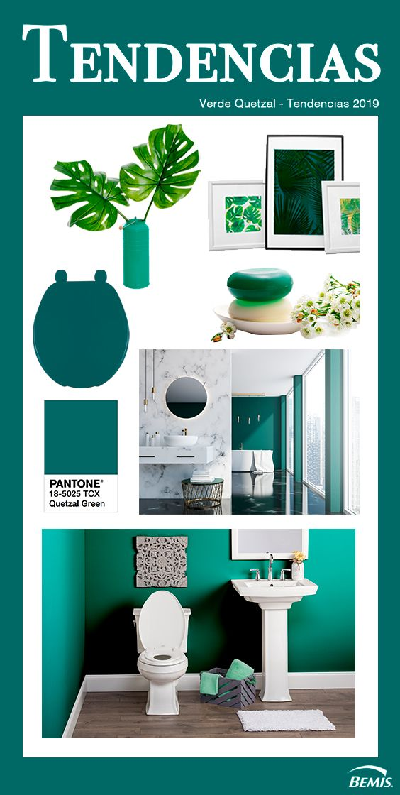 Tendencias De Decoración De Interiores El Verde Quetzal Es