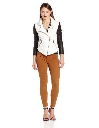 Doma Women's Denim Combo Jacket, Black/White, X-Small Doma,http://www.amazon.com/dp/B00G57DVT4/ref=cm_sw_r_pi_dp_b3MOsb1JKGH6MEC5