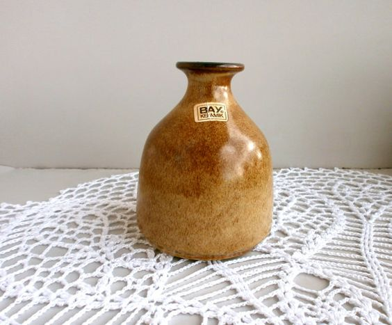 Small West Germany Vase Bay 82 12 pottery vase от DelicateRetro