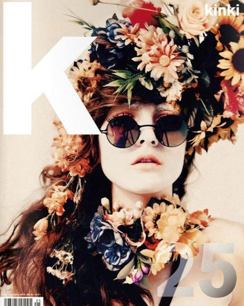 by Stefan Milev---want floral head pieces for next spring lookbook!