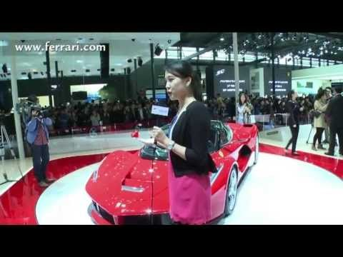 LaFerrari, Ferrari's Hybrid supercar, takes China by storm
