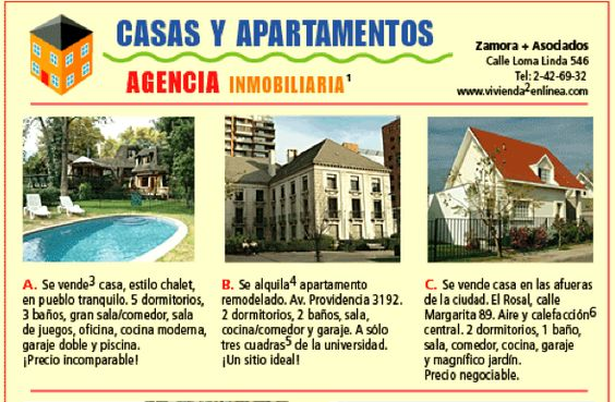 Home spanish and activities on pinterest for Agencia inmobiliaria