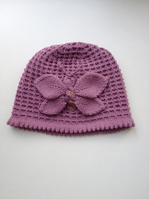 Baby Hat Knitting Pattern Ravelry : Lady Butterfly Hat Knitting Pattern pattern by Tatsiana Matsiuk Ravelry, Pa...