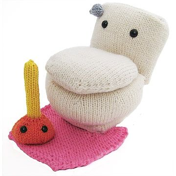 Goes with the bathtub from Mochimochi Land. A great designer with a sense of humor! :o)