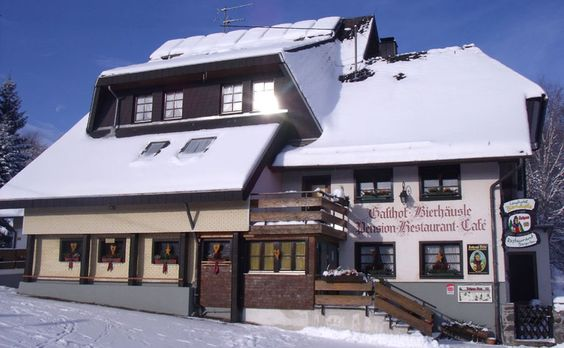 Hotel Feldberg Schwarzwald - per Stuttgart Friends: If anyone is looking for a hotel for a weekend ski trip in Feldberg, highly recommend this one. The German owners spend 11 years in New Zealand so their English is excellent. The hotel takes dogs, has a 3 bedroom apartment with full kitchen as well as regular hotel rooms. With a 2+ night stay you also get a free Black Forest Card, which is a free bus pass and lift ticket for everyone in the family. The restaurant is very good also