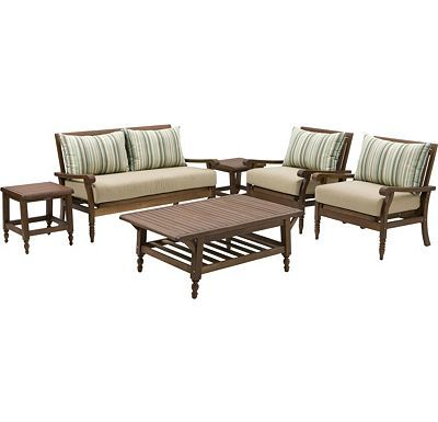 Palmetto Estates 6 Piece Seating Set Screened In Porch Furniture For The Home Pinterest