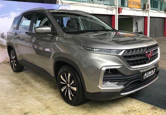 Harga Wuling Almaz 2021 Dan Spesifikasi Resmi Di Indonesia Otomotifo Mobil Indonesia Eksterior