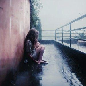 Tumblr Photography Rain girl | Tumblr | Pinterest | Lonely ...