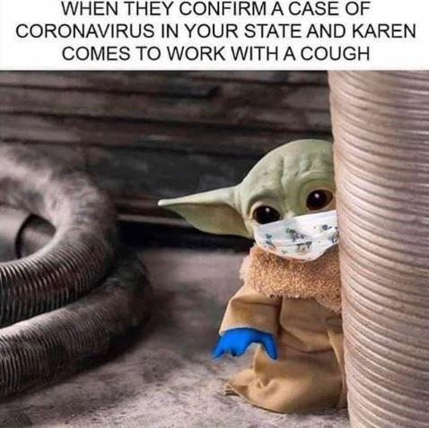 Fifteen Karen Memes That Will Terrify Anyone In Customer Service Karen Memes Yoda Funny Funny Star Wars Memes