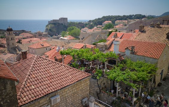 View from Dubrovnik walls 4
