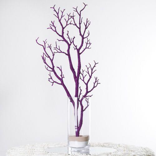 4-x-32-tall-Purple-MANZANITA-TREE-BRANCHES-Wedding-Party-CENTERPIECES-SALE